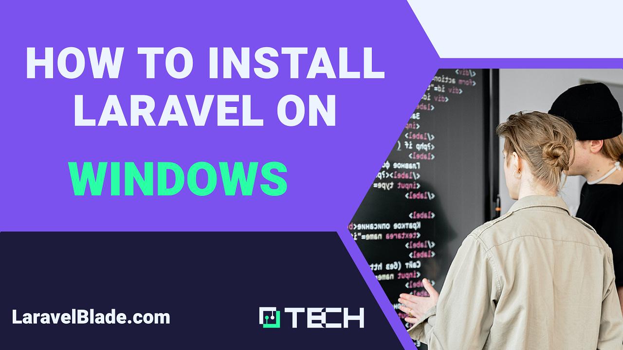 Windows 10 Laravel - How to install